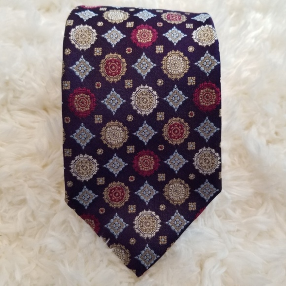 Hugo Boss Other - BOSS by Hugo Boss Purple Silk Tie